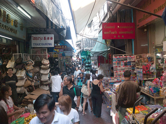 Soi Wanit 1, The wholesale market of Chinese  - SiamBangkokMap