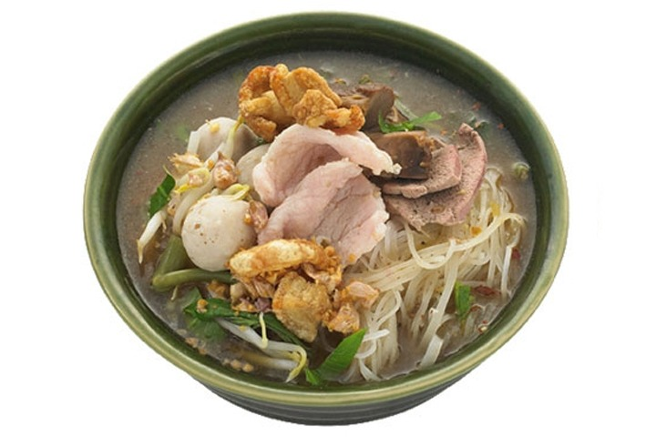 "EXPRESS MENU ""Kuay Tiew Rua""... Ayuthaya Boat Noodle served Dry or with Soup, with Pork or Beef - SiamBangkokMap"